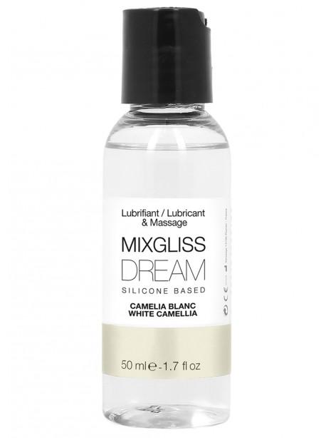 Grossiste Mixgliss Lubrifiant silicone camelia blanc 50ml compatible preservatif