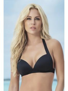 Fournisseur Mapalé Haut de bikini mini-bustier noir top maillot de bain avec coques confortables
