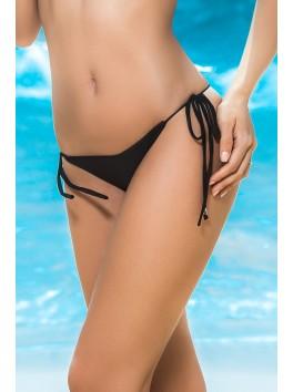 Fournisseur Mapalé Bas de bikini string noir bas de maillot de rose string cordelettes