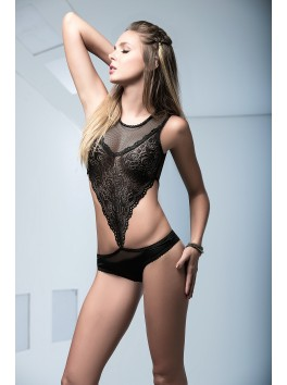 Black Lace Teddy 2455