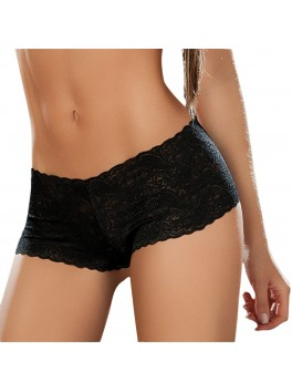 Black Lace Boyshort Mapale 90
