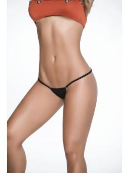 vente en gros String sexy noir dos en forme Y