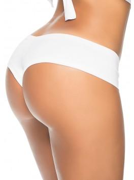 Grossiste en ligne Tanga blanc froncé sexy