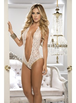 Ivory Lace Teddy Style 8133