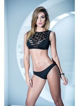 grossiste mapale Ensemble sexy top idéal striptease top et culotte