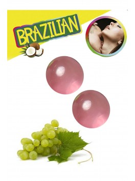 Brazilian balls Boules bréziliennes de massage erotique au raisin