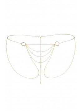 fournisseur bijoux indiscrets Chaine dorée bikini