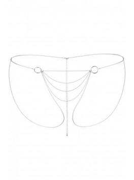 Fournisseur bijoux indiscrets Chaine Bikini argentée Tendance Sensuelle