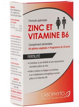 Grossiste Labophyto Complément alimentaire zinc et vitamine B6 60 gélules