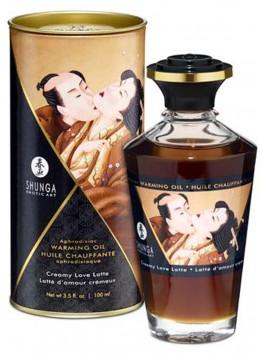 Grossiste Shunga Huile de massage chauffante comestible aphrodisiaque cremeuse pour zones erogènes