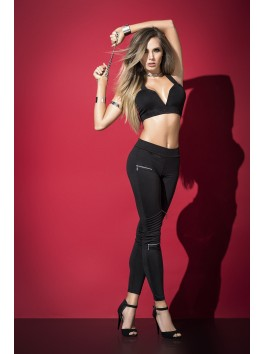 Two pieces pant set black 2503