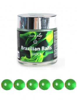 fournisseur 6 Boules breziliennes de massage parfumées noix de coco
