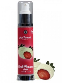 White chocolate and strawberry lubricant 50ml 3571
