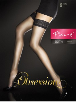 Edith Stockings - Black