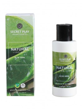Lubrifiant Natural 100ml Aloe Vera sans glycérine ni parabènes fournisseur secret play