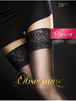 Milena Stockings - Black