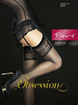 Mirage Stockings - Black
