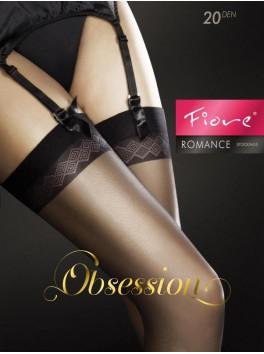 Romance Bas 20 DEN - Noir
