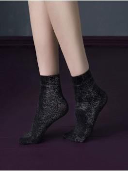 Chaussettes noires Midnight 40den pour femmes fournisseur Fiore