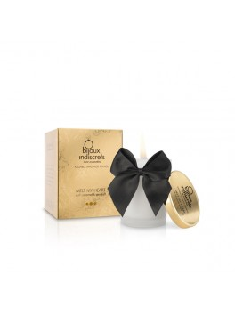 Bougie de massage embrassable - Caramel doux