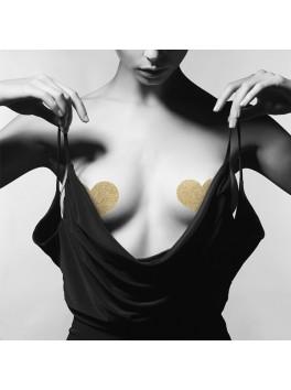 Distributeur Bijoux Indiscrets - Cache téton coeur doré