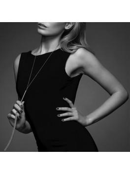 Magnifique - Necklace whip silver Bijoux Indiscrets