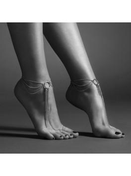 Bijoux Indiscrets Chaine argentées de pieds et chevilles