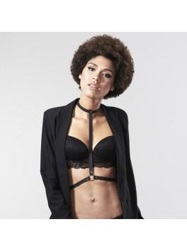 Grossiste bijoux indiscrets Maze Harnais noir I tendance sensuelle