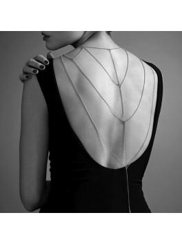 MAGNIFIQUE Back Cleavage Chain Silver - Bijoux Indiscrets