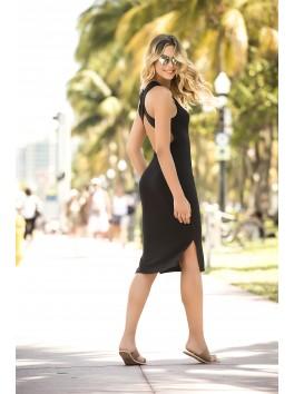 Black dress 4610 cut low provider mapalé