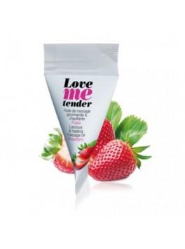 fournisseur berlingot huile de massage fraise