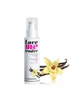 fournisseur huile de massage chauffante Vanille 100ML
