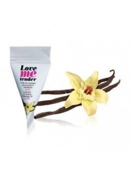 grossiste Huile de massage chauffante comestible vanille en berlingot 10ml
