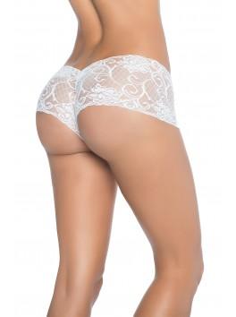 Provider mapale white Peek-A-Boo Boyshort lingerie