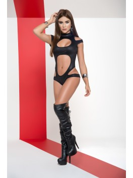 Clubbing bodysuit black Mapale 2528