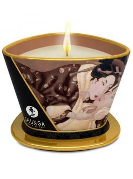 Bougie de massage lueur et caresses - Chocolat Enivrant