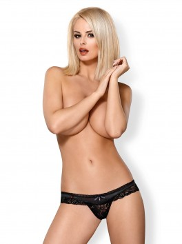 846-THO-1 Thong black