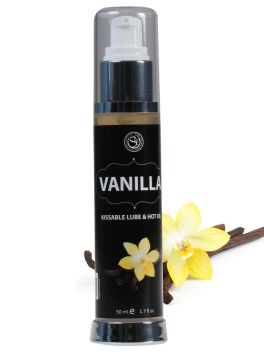 Hot effect vanilla lubricant 50ml 3536