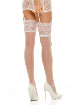 Romance stockings - White