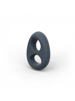 Pack 3 cockring en silicone Spoody Nine pourpre