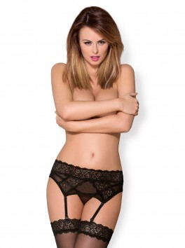 855-GAR-1 Garter Belt black