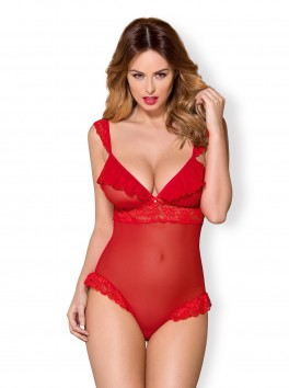 863-TED-3 teddy red