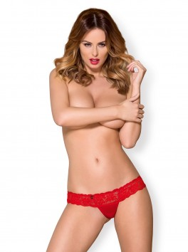 863-THO-3 Sensual thong red