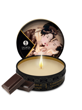 Mini massage candle - Chocolate Shunga