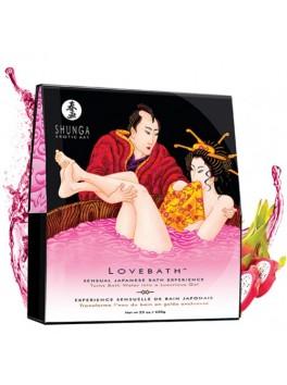 Fournisseur Shunga Sels de bain japonais fruit du dragon pour transformer le bain en gelée de perles