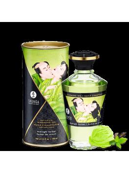 Grossiste Shunga Huile de massage chauffante sorbet de minuit