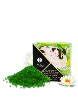 Lotus-flower aphrodisiac bath salts shunga