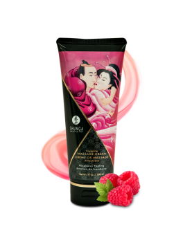 Kissable massage cream - Raspberry feeling