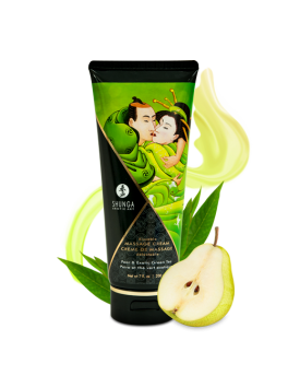 Kissable massage cream - Pear & Exotic Green Tea