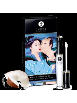 Gloss pour plaisir oral divin - eau de coco shunga